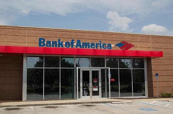 Bank of America © Rob Wilson/Shutterstock.com