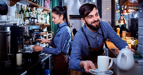 Start early with a part-time job in college   Studio Romantic/Shutterstock.com