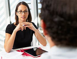 Discuss salary on the interview © Monkey Business Images/Shutterstock.com