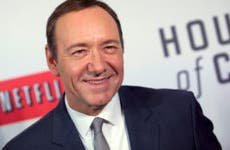 Kevin Spacey at premiere of Netflix's House of Cards