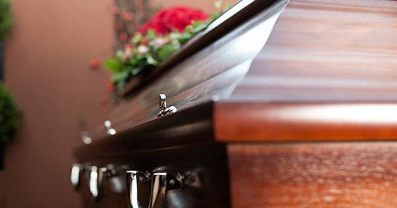 Funeral and cemetery plot scams