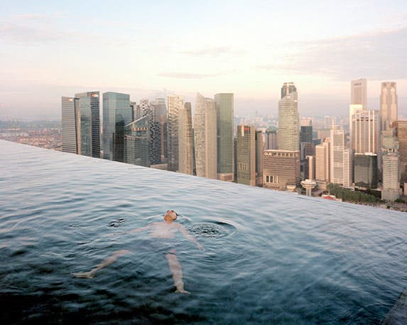 Infinity pool at the top of the world   Photo credit: Paolo Woods & Gabriele Galimberti-INSTITUTE