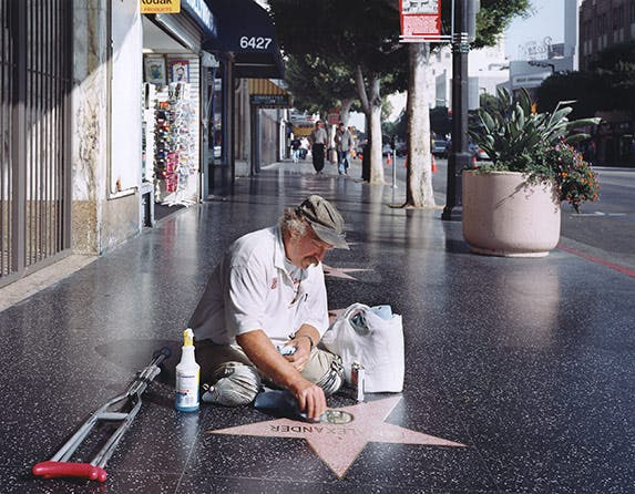 Cleaning for the stars   Photo credit: Juliana Sohn