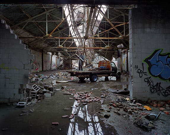 Crumbling Detroit | Photo courtesy of Andrew Moore and Yancey Richardson Gallery