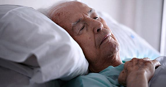 Hospice care at home is available © iStock