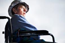 Senior woman in wheelchair © iStock