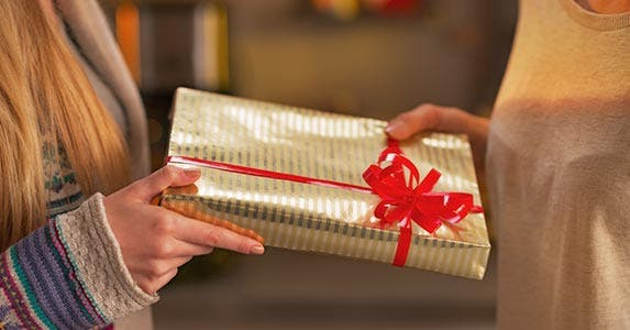 Get real with gift lists © iStock