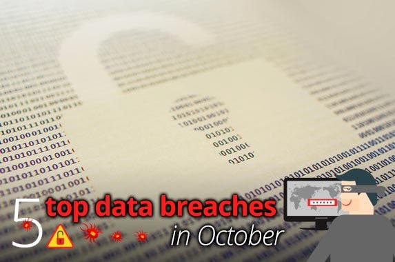 October data breaches © iStock