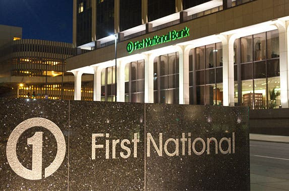 First National Bank of Omaha © Andrew Holbrooke/Corbis