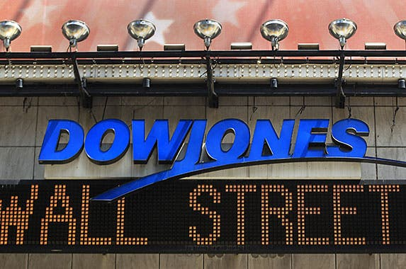 Dow Jones © SHANNON STAPLETON/Reuters/Corbis
