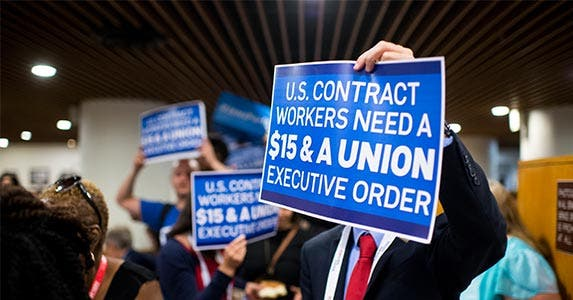Minimum wage | Bill Clark/Getty Images