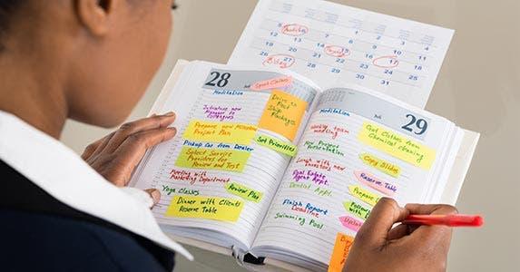 Use your calendar © Andrey_Popov/Shutterstock.com