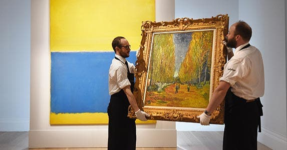 Discovery of a Van Gogh | Mary Turner/GettyImages