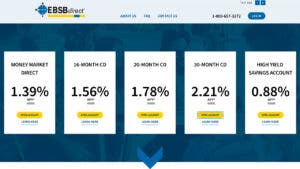 EBSB Direct Money Market Account: Earn 1.80% APY Rate ...