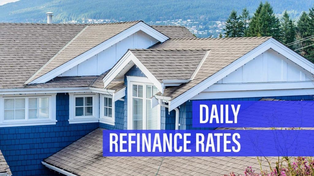 Refinance rates ratchet higher for Wednesday