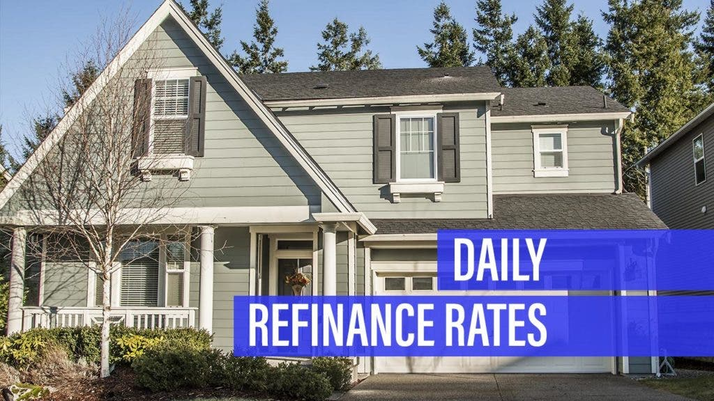 Refinance rates fall for Wednesday