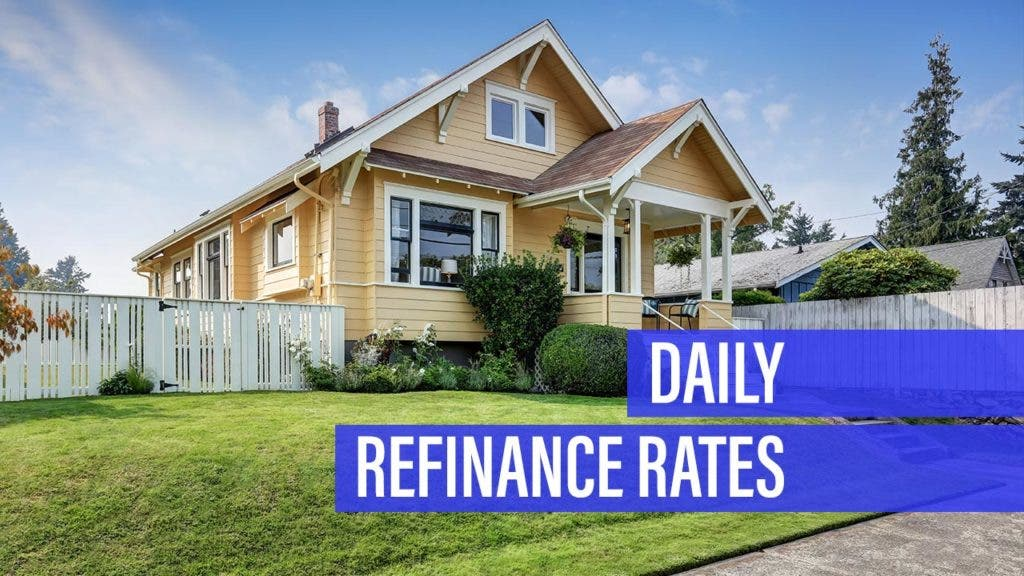 Refinance mortgage rate retreats for Wednesday