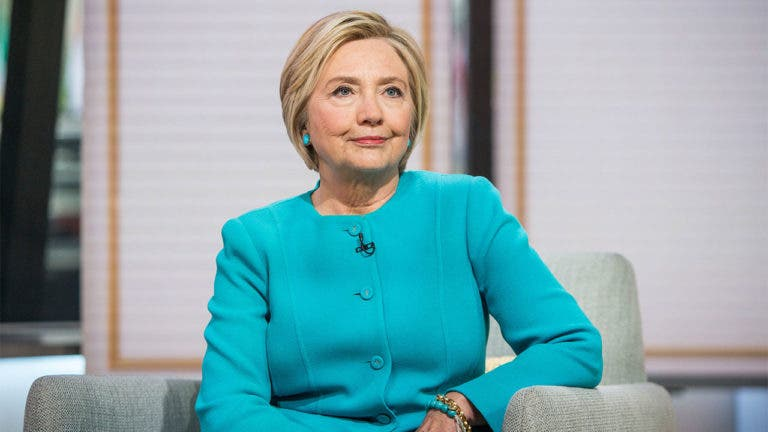 Hillary Clinton's net worth is $45 million
