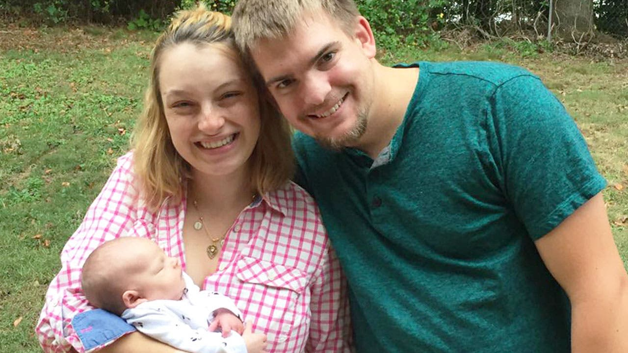 young millennials family