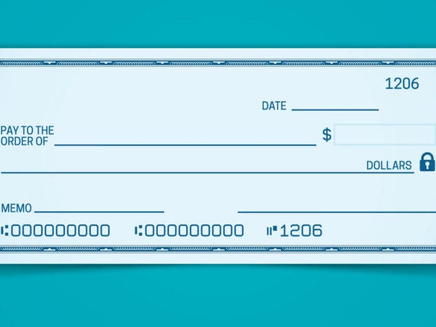 How To Write A Check 5 Easy Steps Bankratecom - Pay-to-the-order-of
