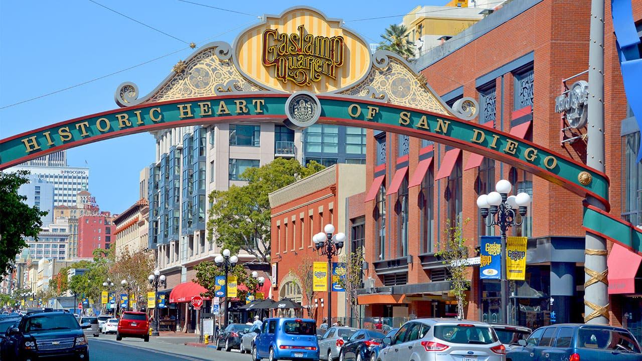 San Diego Gaslamp District