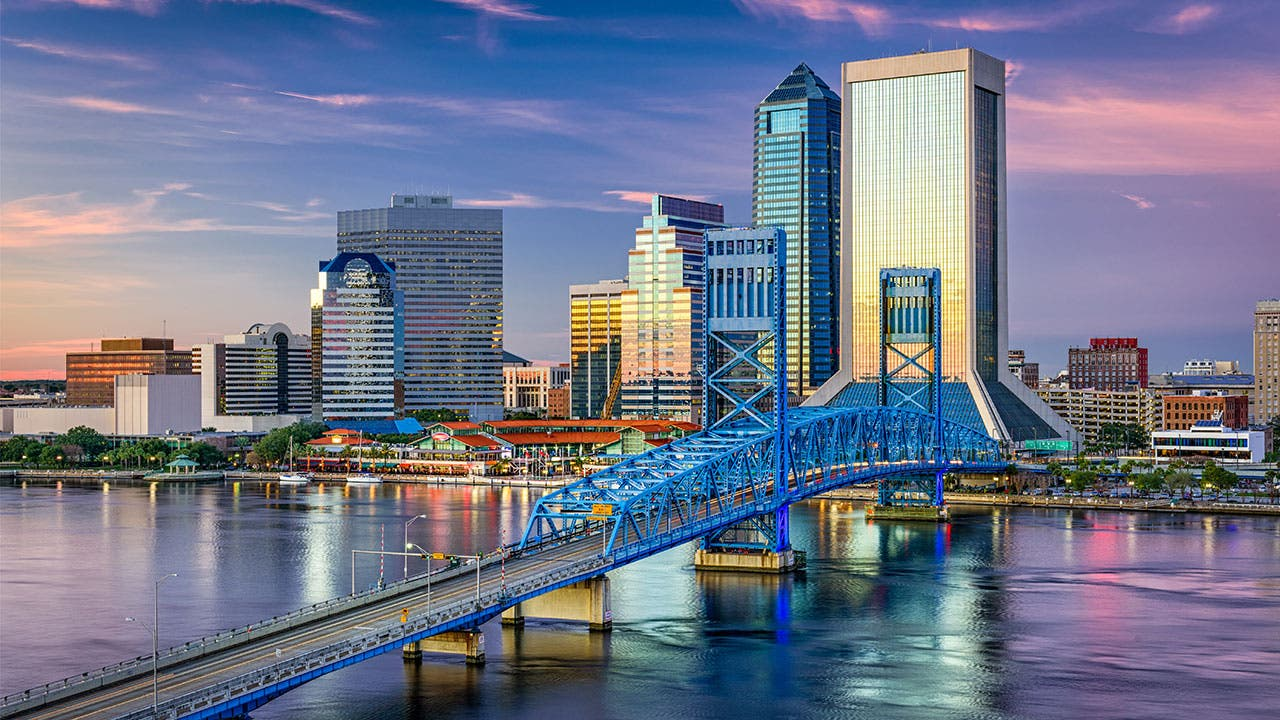 Jacksonville and St. Johns River