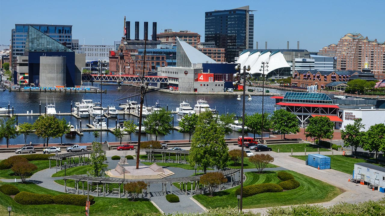 Baltimore and the Inner Harbor