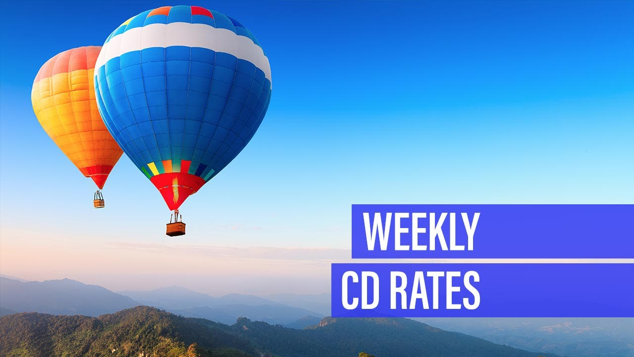 Weekly CD rates