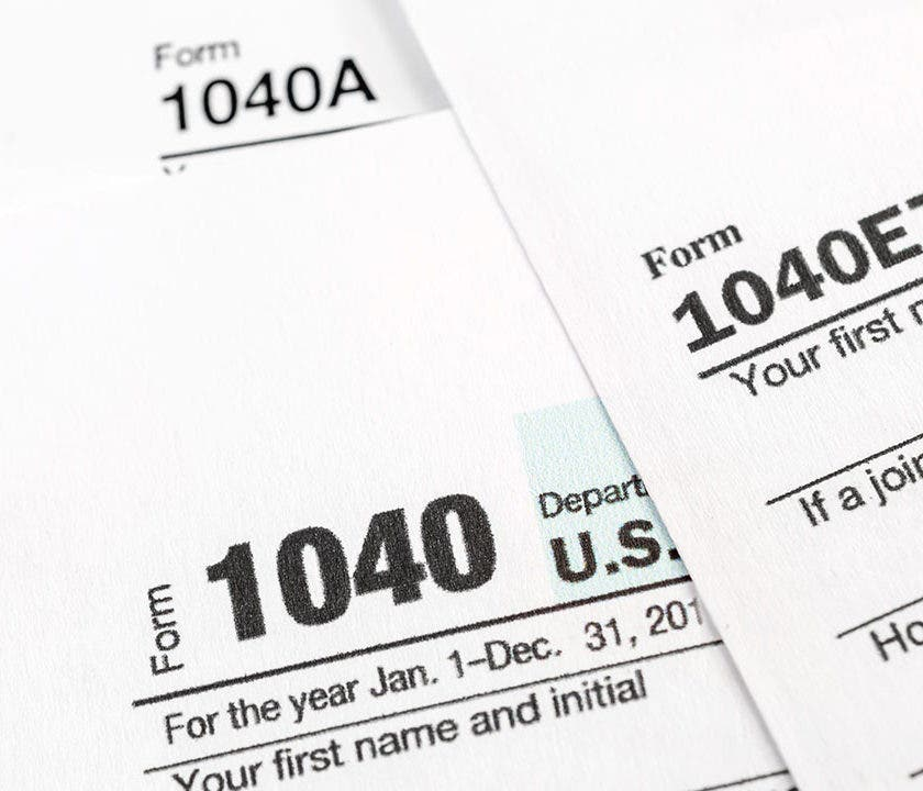Tax Forms Irs Tax Forms Bankrate Com