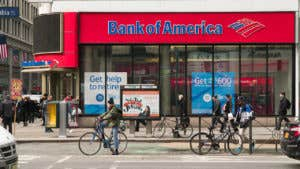 Bank of America's eBanking account has been discontinued