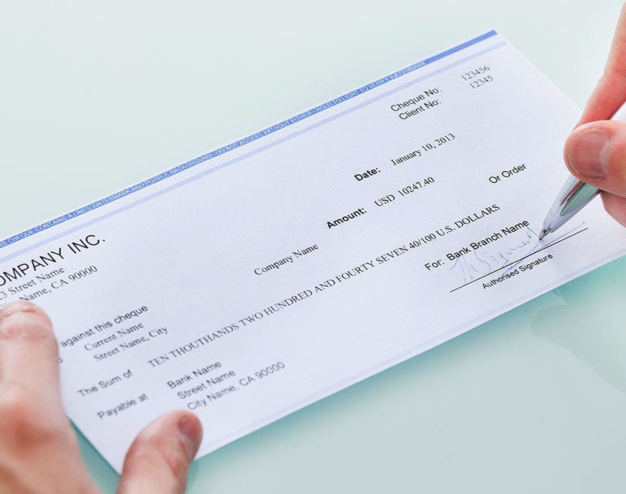 Cashier's Check Vs  Money Order | Bankrate com