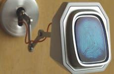 Biometric finger print security scanner