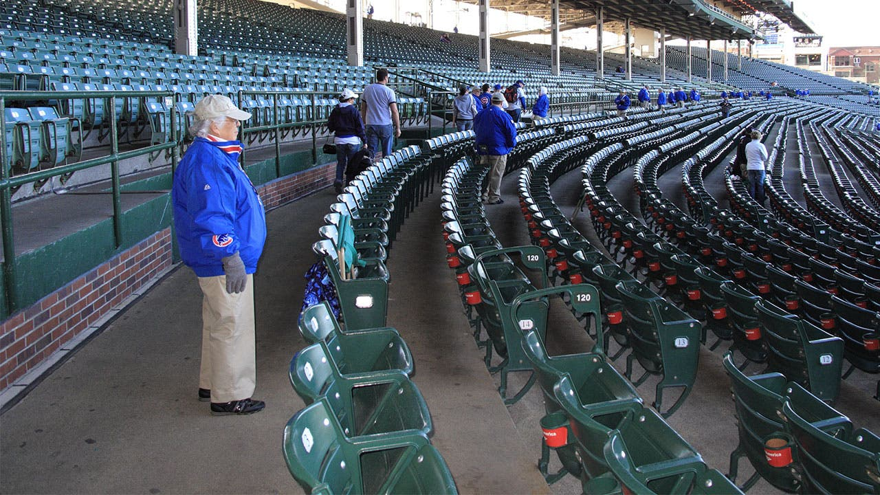 Ushers in Wrigley's Field