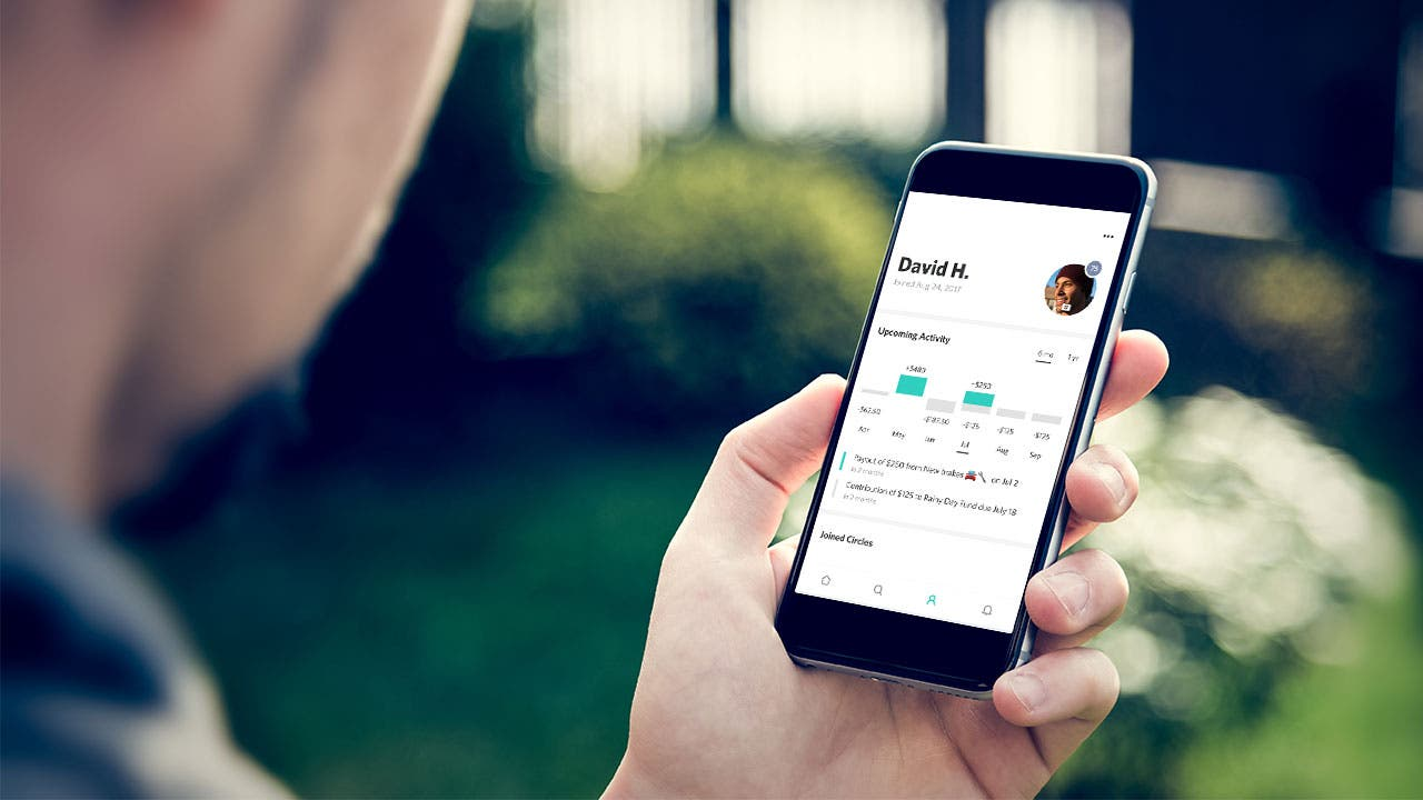 Tanda personal finance app