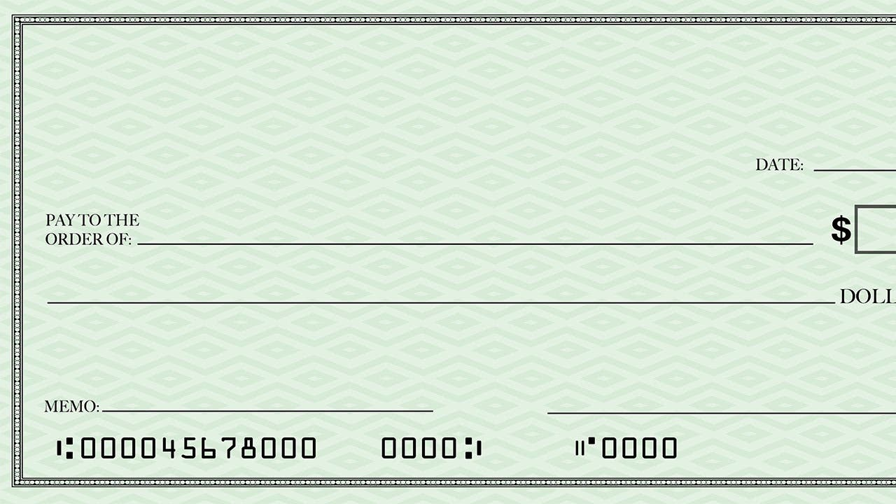 where is the account number on a check? | bankrate