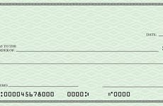 close up of a check with account and routing numbers