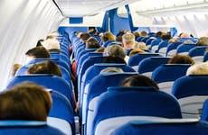 People aboard a flight