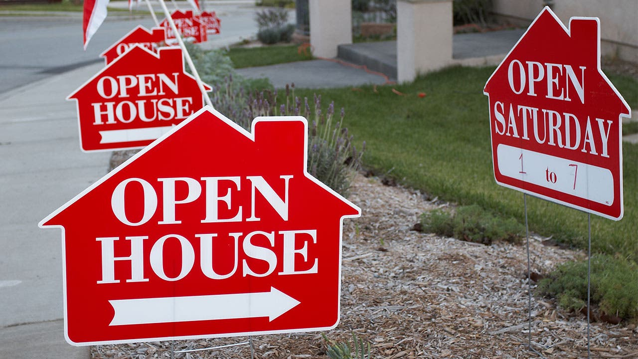 Signs for open house