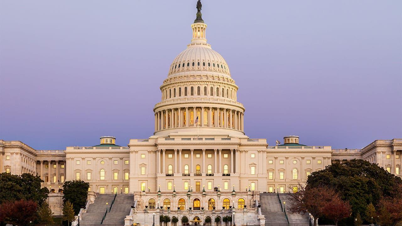 Captiol Building in Washington