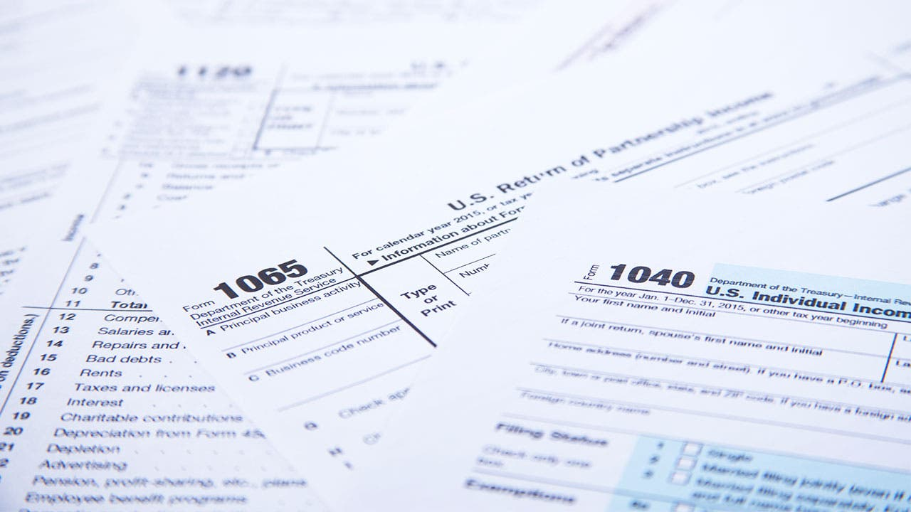 401K Tax forms