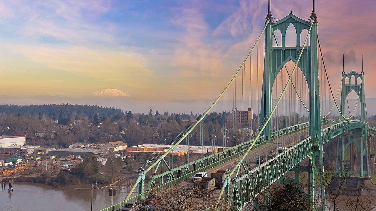 Bridge over Portland Oregon