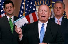 Kevin Brady at press conference