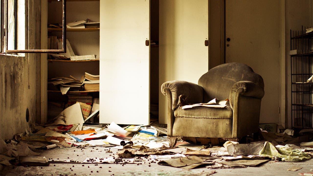 Dirty livingroom
