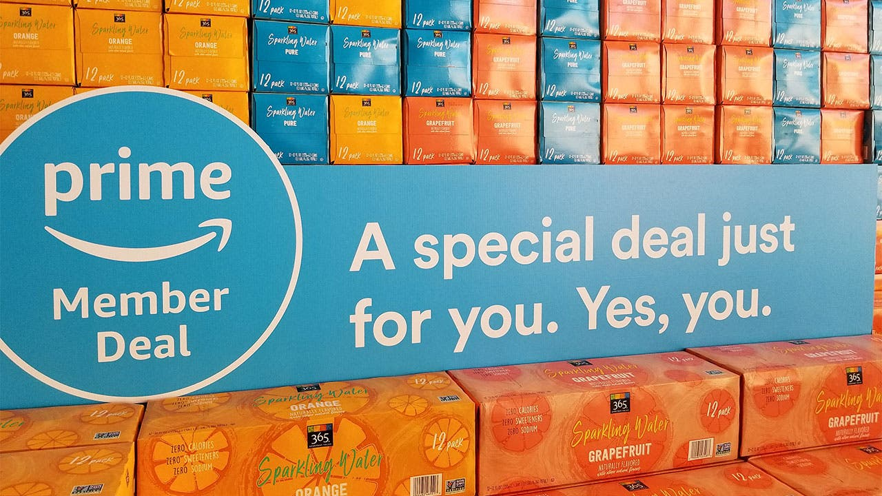 Soda on sale at Whole Foods