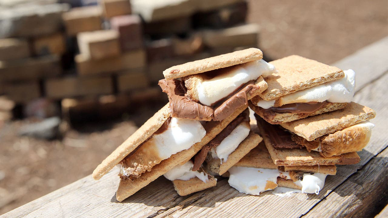 S'mores melting