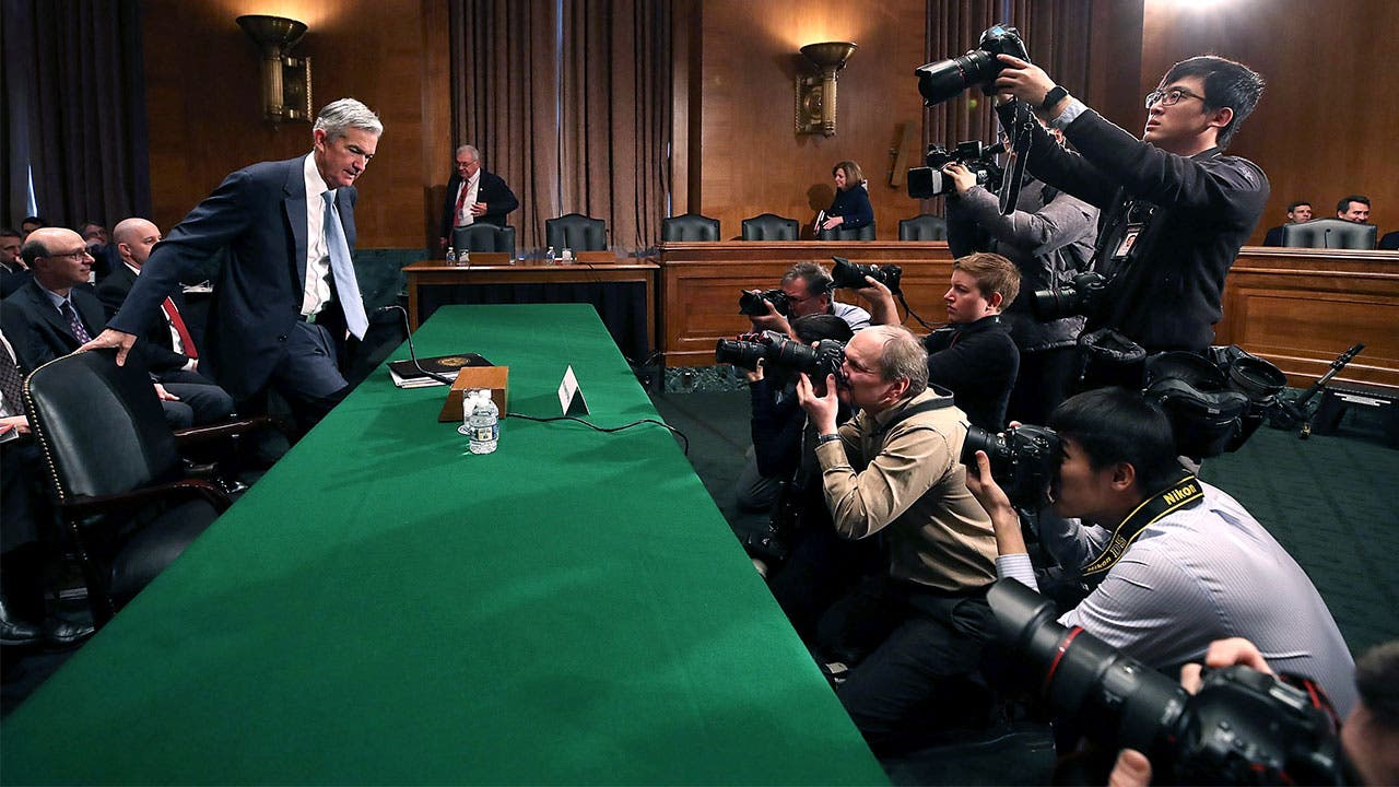 Jerome Powell in chamber