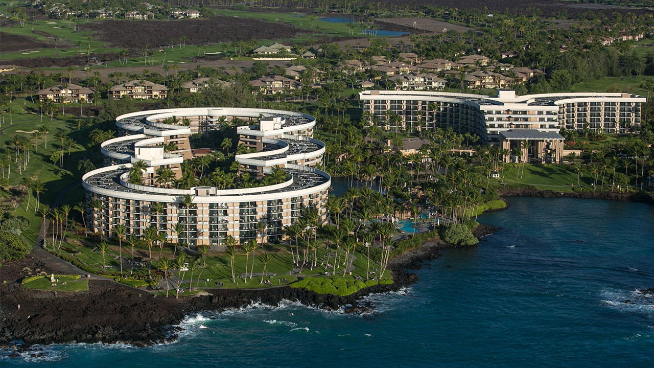 Hilton hotel in Hilo Hawaii