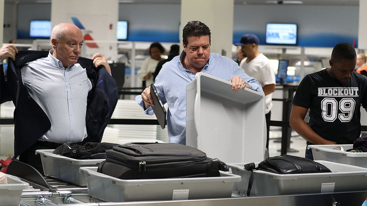 Travellers place belongs in TSA bins
