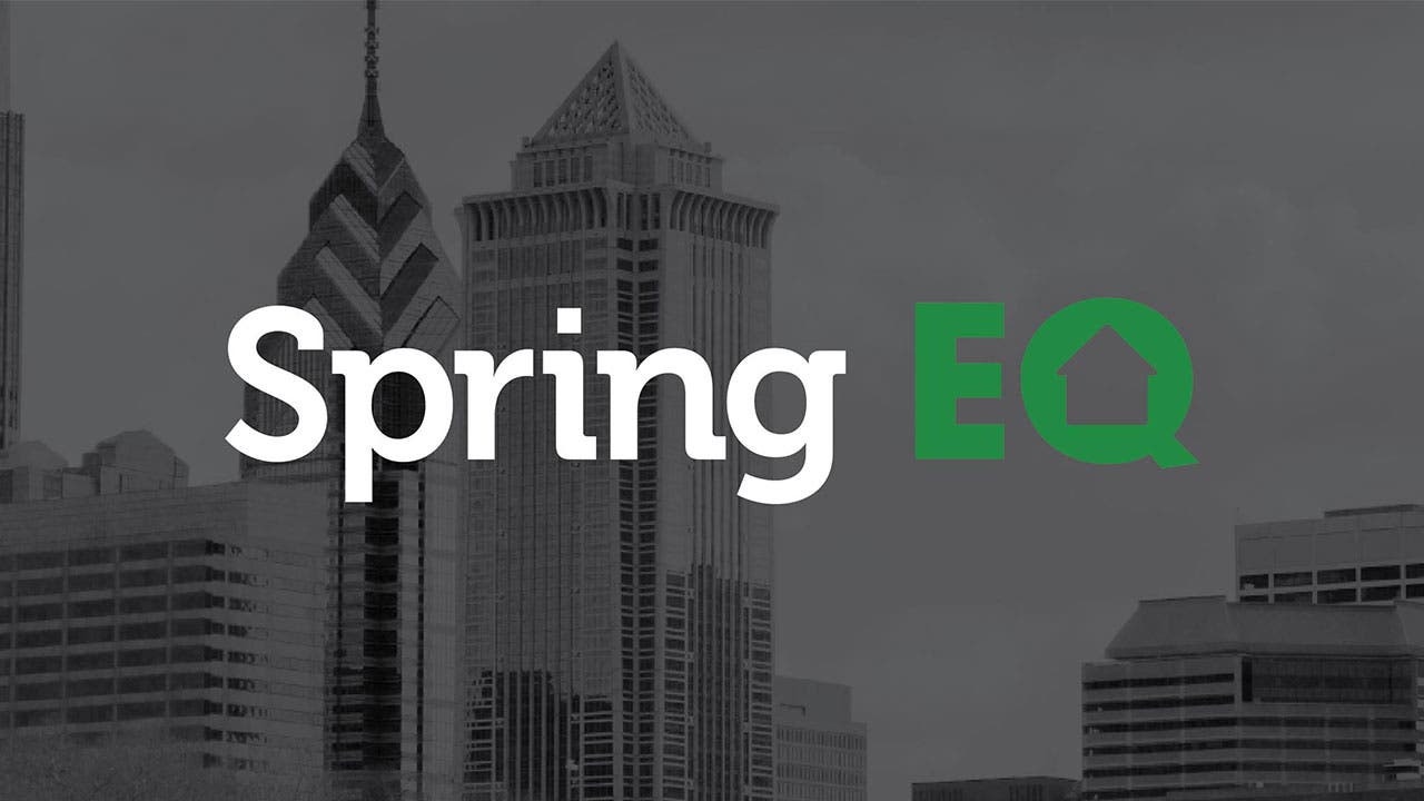 Spring EQ Home Equity loan logo