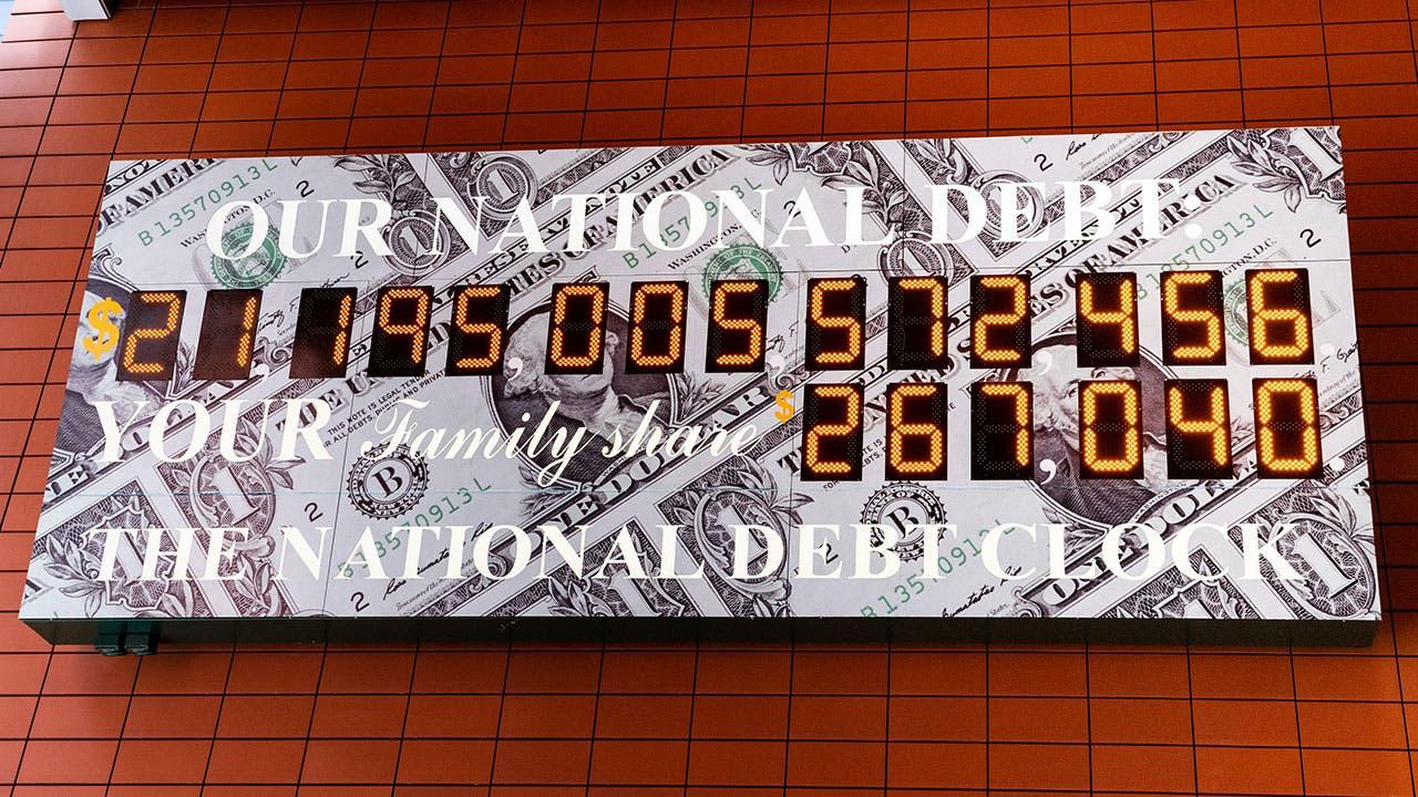 National Debt calculator